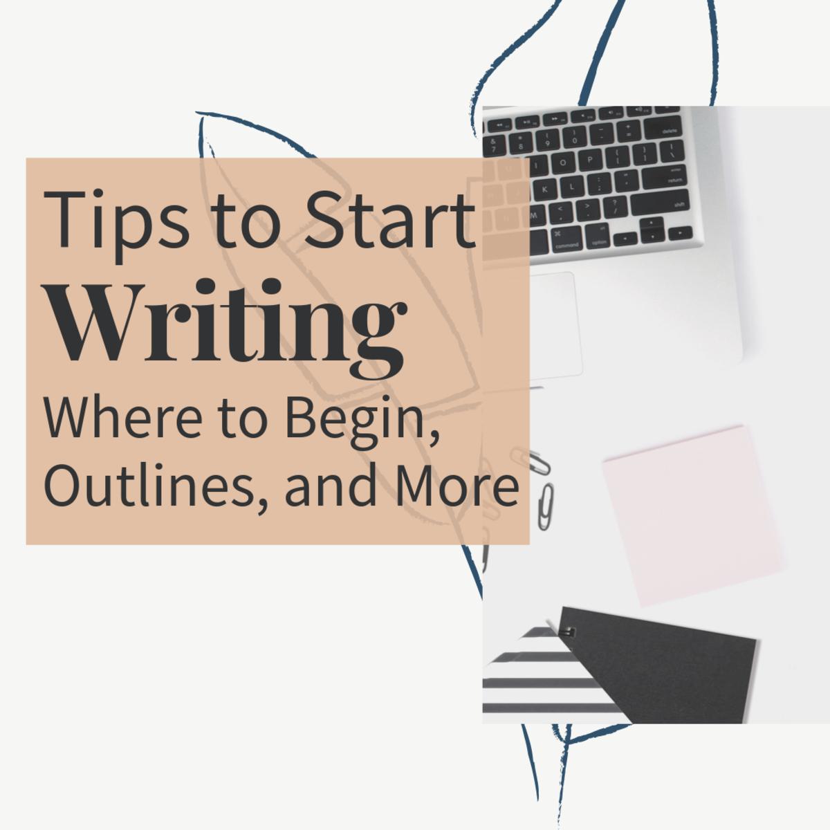 Tips to Start Writing