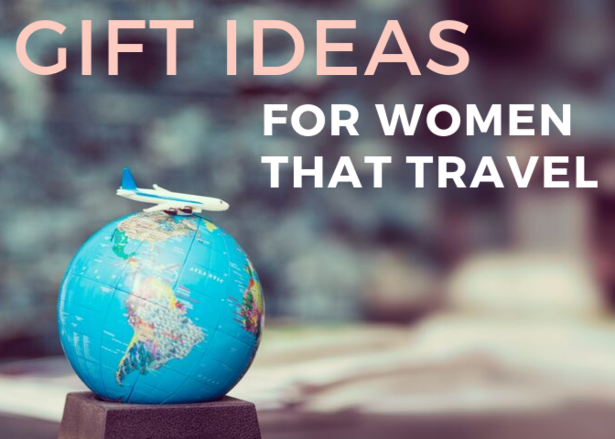 Find a travel gift for a woman that is thoughtful and she will find many ways to thank you!