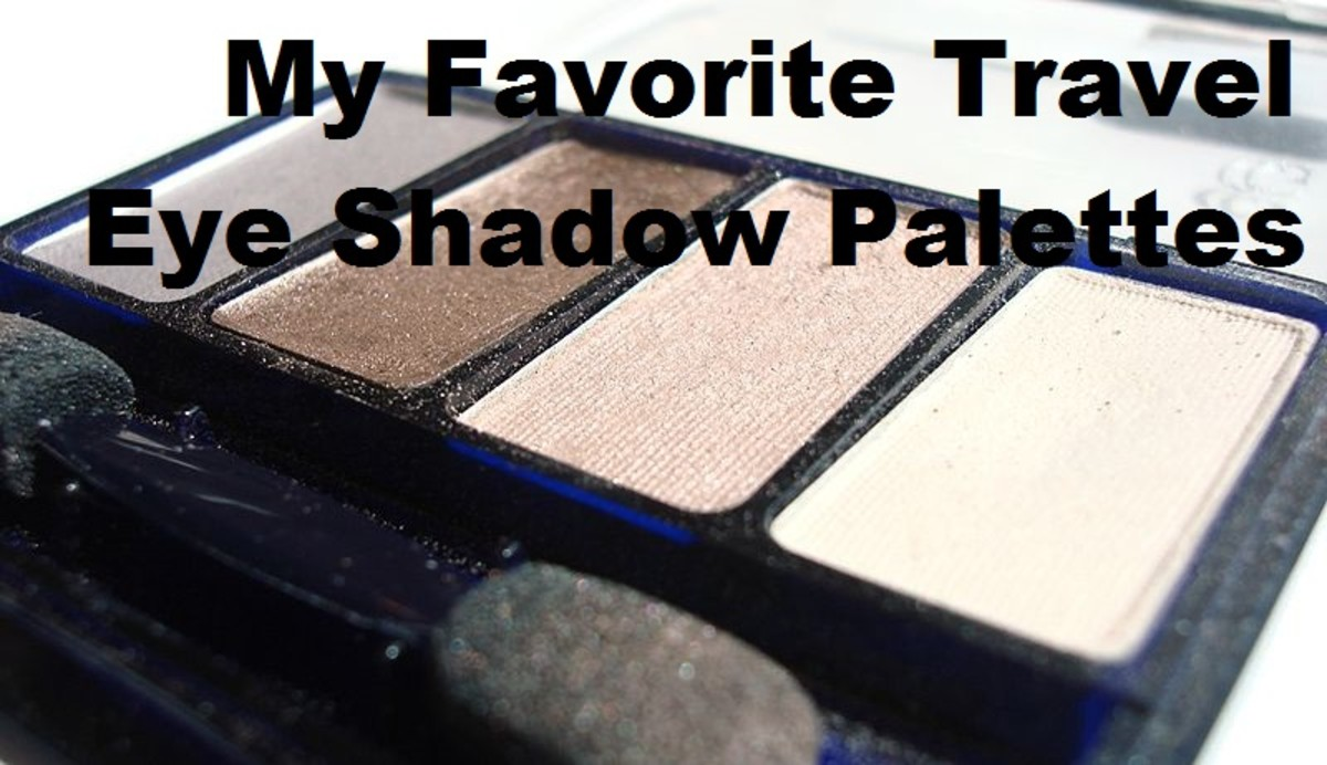 6 of My Favorite Travel Eye Shadow Palettes: Little Packages, Big Possibilities