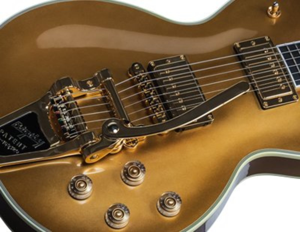 5 Best Gibson Les Paul Guitars With Vibrato  or Whammy Bars 2015-2017