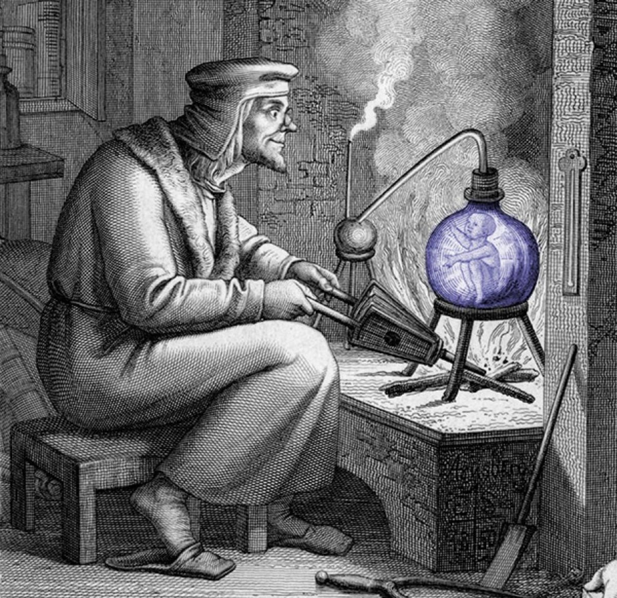 The Homunculus: Creation Through Alchemy
