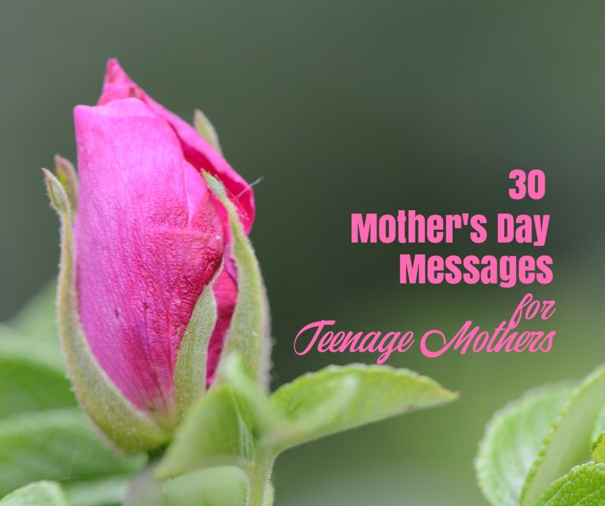 Mother's Day Messages for Teenage Mothers