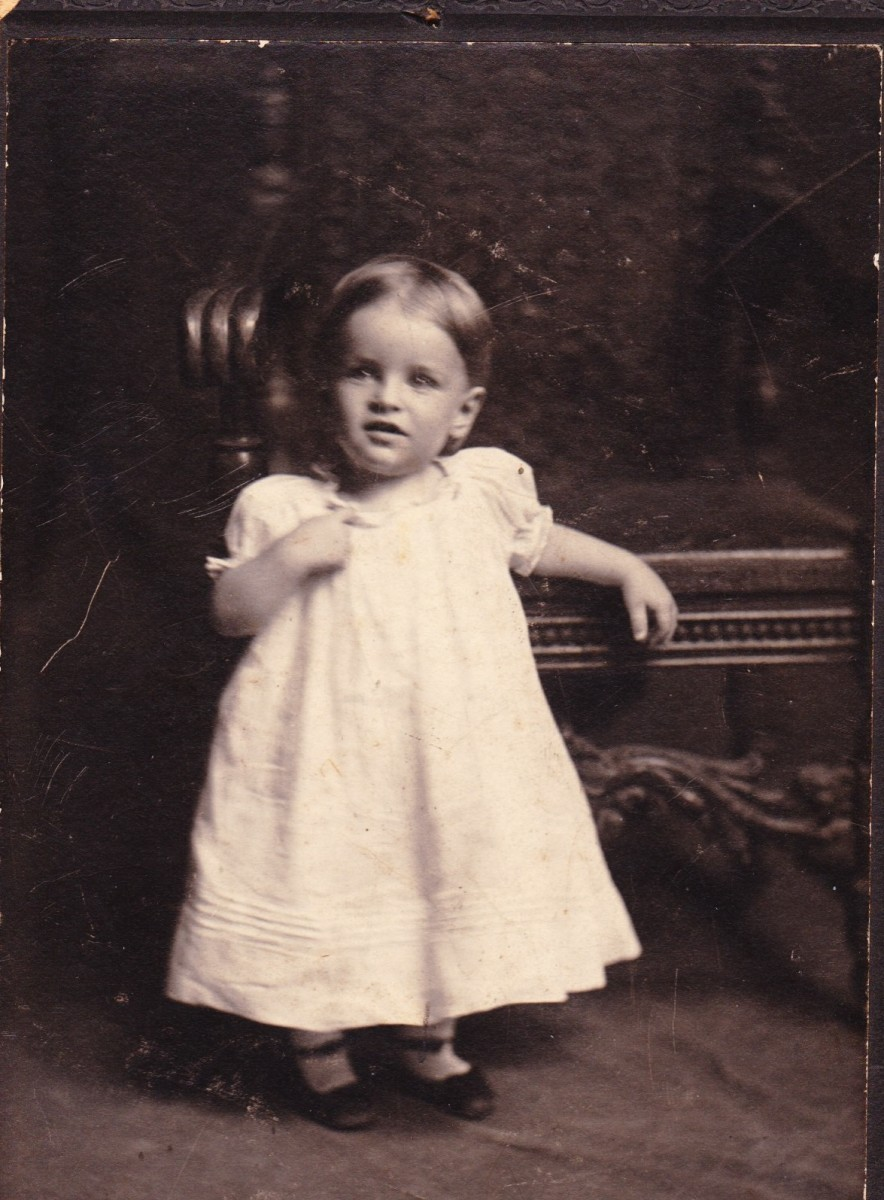 My father - Caperton Horsley, age 18 months (1904)