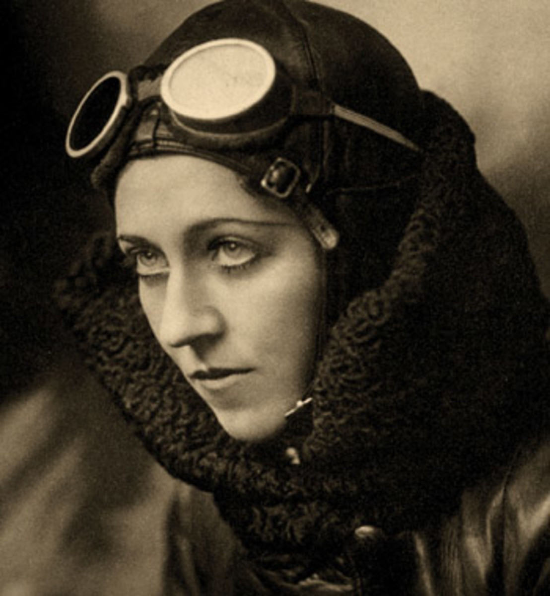 Amy Johnson, legendary aviatrix from Hull, who was killed while flying for the ATA.