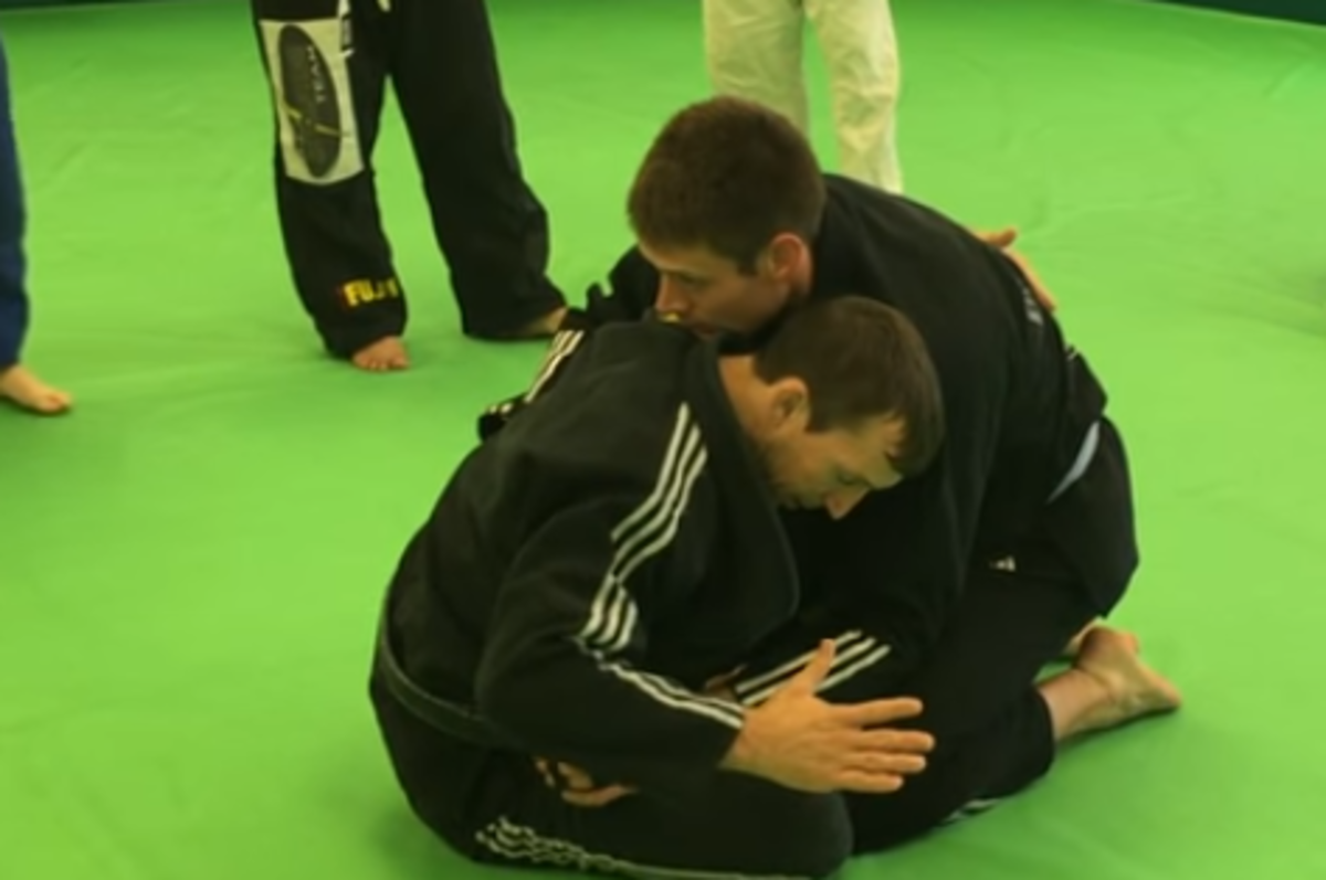 How to Do a Butterfly Guard for Brazilian Jiu-Jitsu