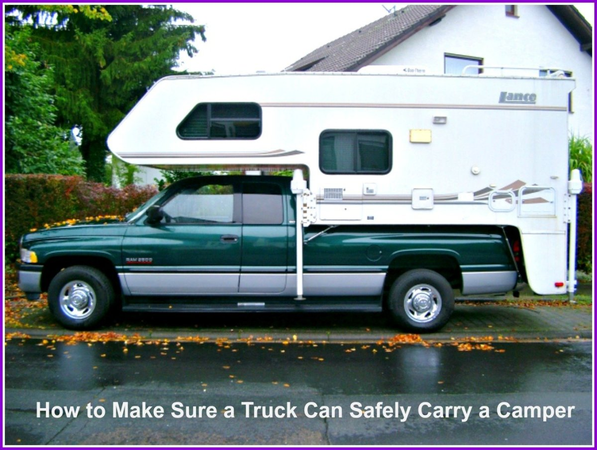 How to Make Sure a Truck Can Safely Carry a Camper