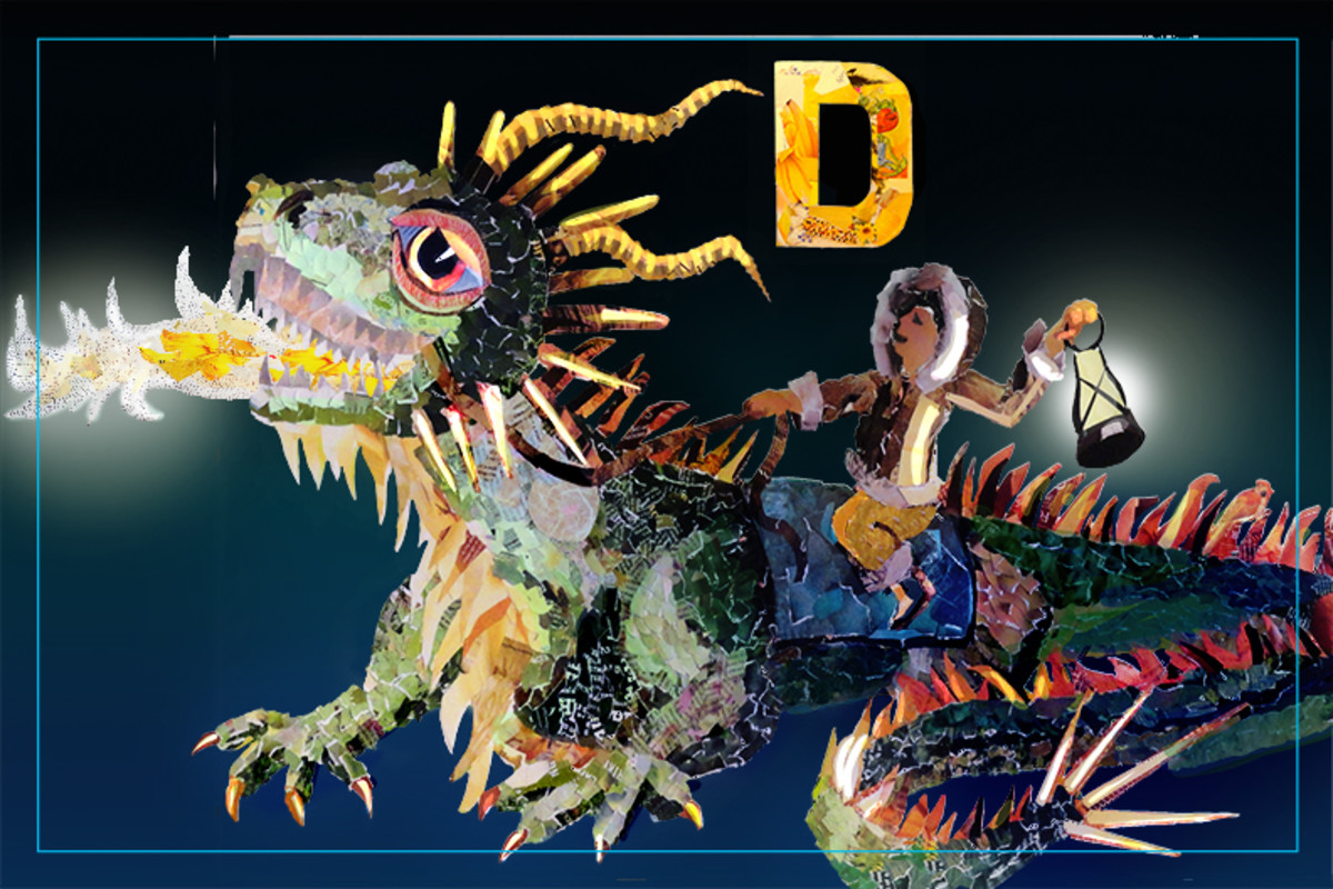 D is for Dragon from the North