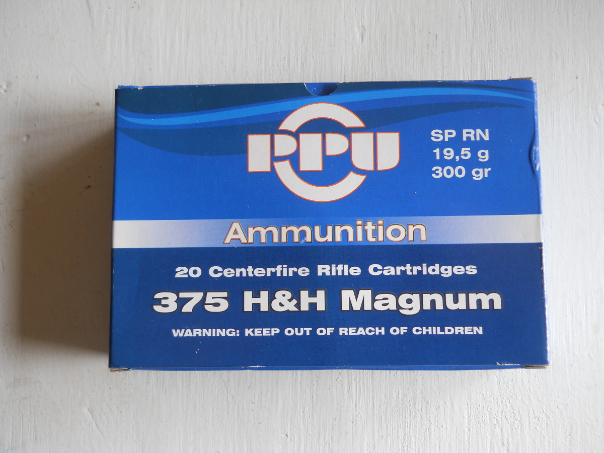 New Ammunition Test: PPU 300 Grain .375 H&H Mganum