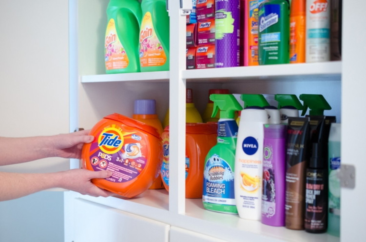 How to Stockpile Products When You Don't Have Space