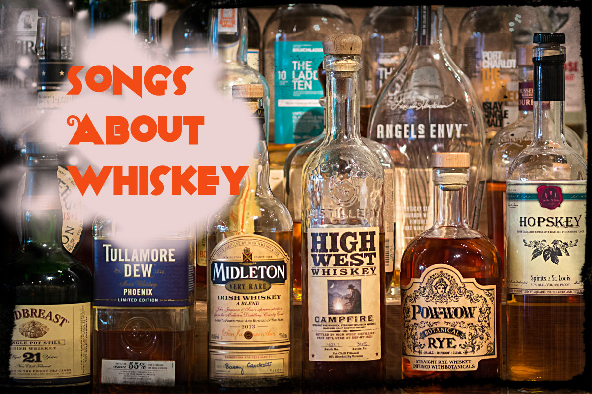 Add a playlist of pop, rock, and country songs about whiskey to your fun.  We have a long list of whiskey loving songs to start you off.