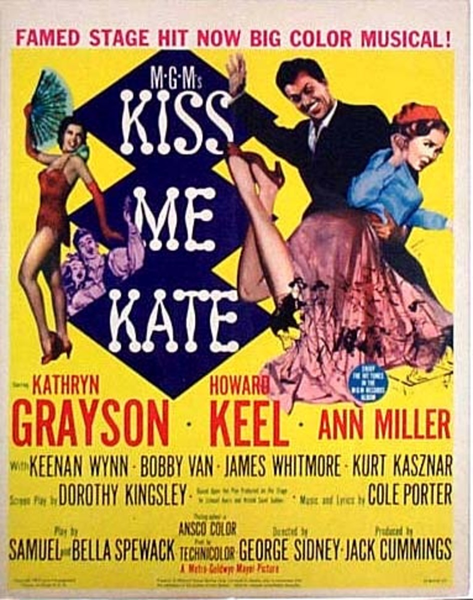 The film's poster, which shows the controversial spanking scene.