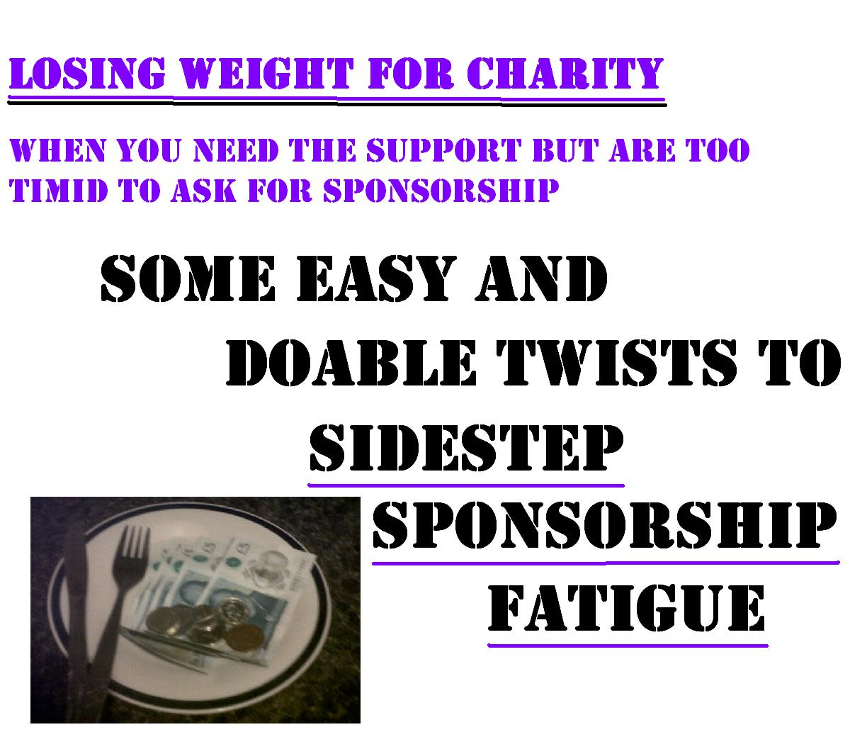 A Twist on Motivation: Sponsorship to Lose Weight for Charity