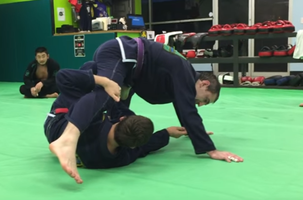 How to Turn X-Guard Sweeps Into Submissions for Brazilian Jiu-Jitsu
