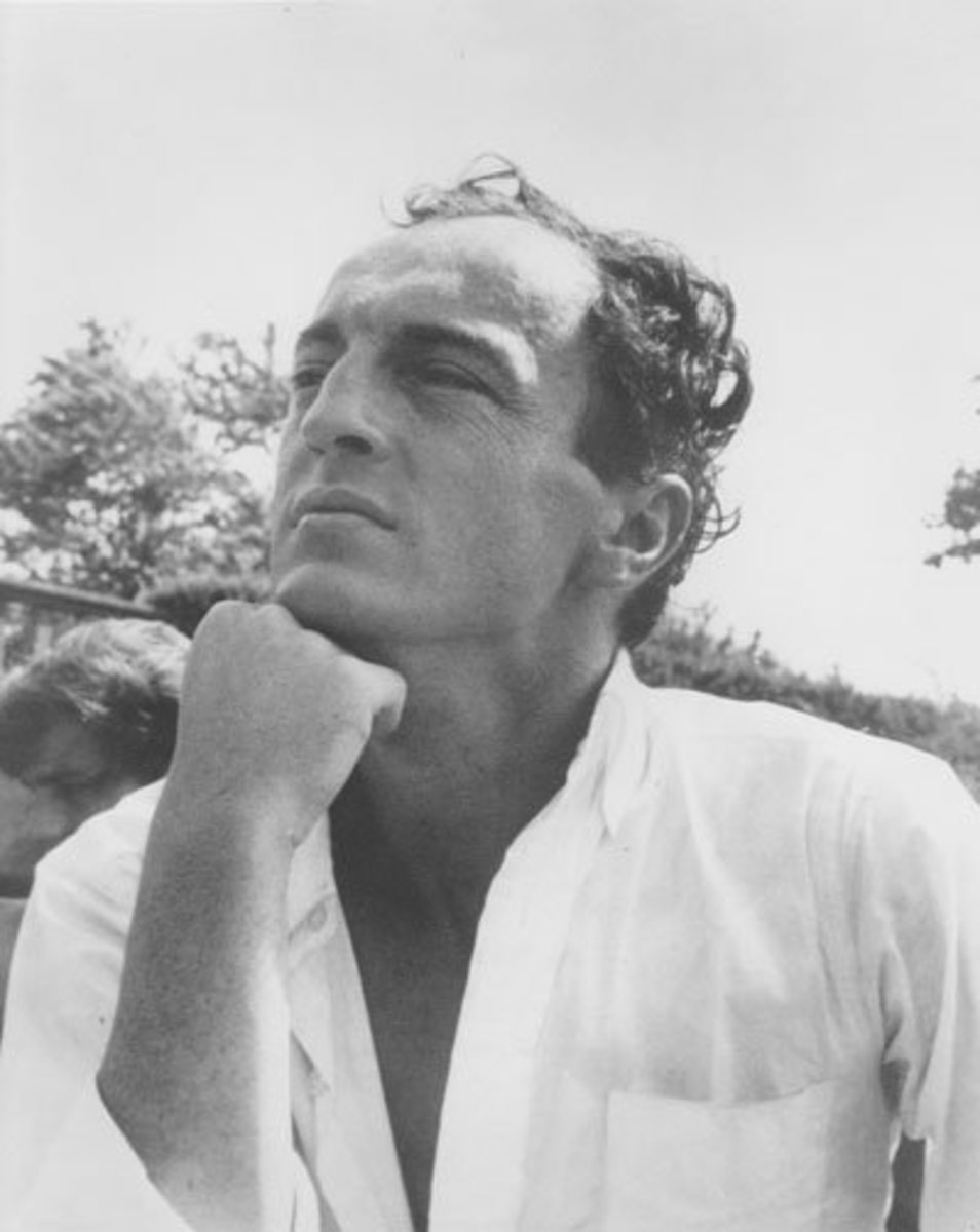 Frank O'Hara  photographed by Kenward Elmslie