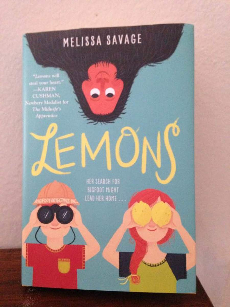 Eye-catching cover draws you in to the lessons of making lemonade from life's lemons