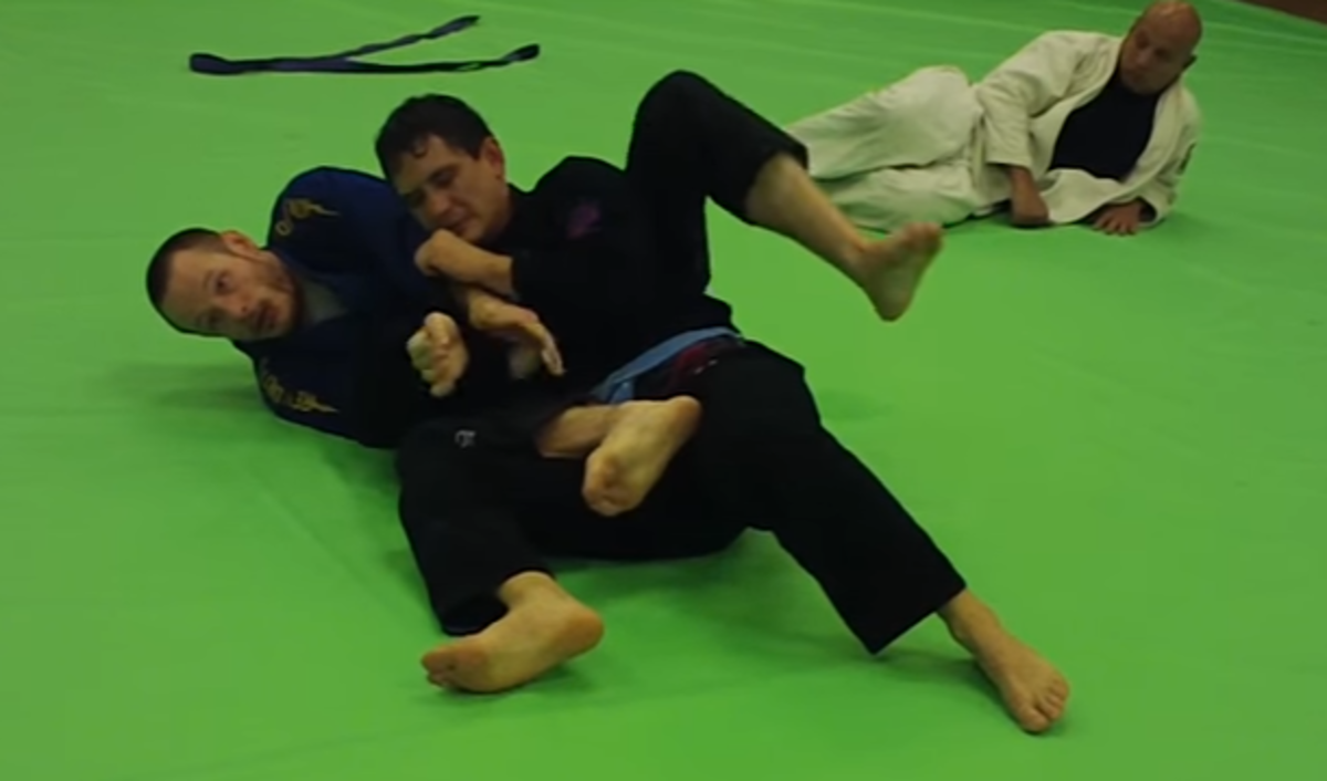 How to Do an Armbar from the Back in BJJ