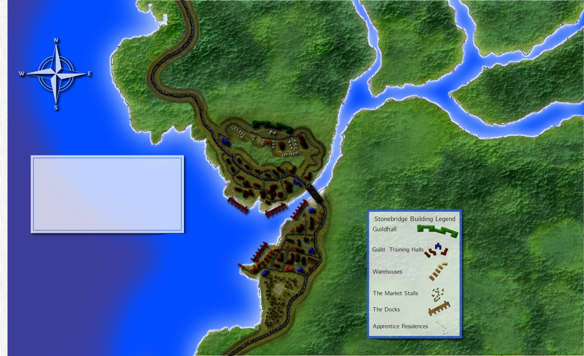 Creating Fantasy Maps with GIMP: Labeling