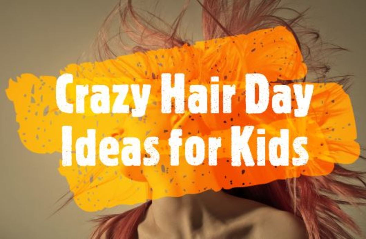 11 Wacky Hair Ideas for Exciting Crazy Hair Day at School