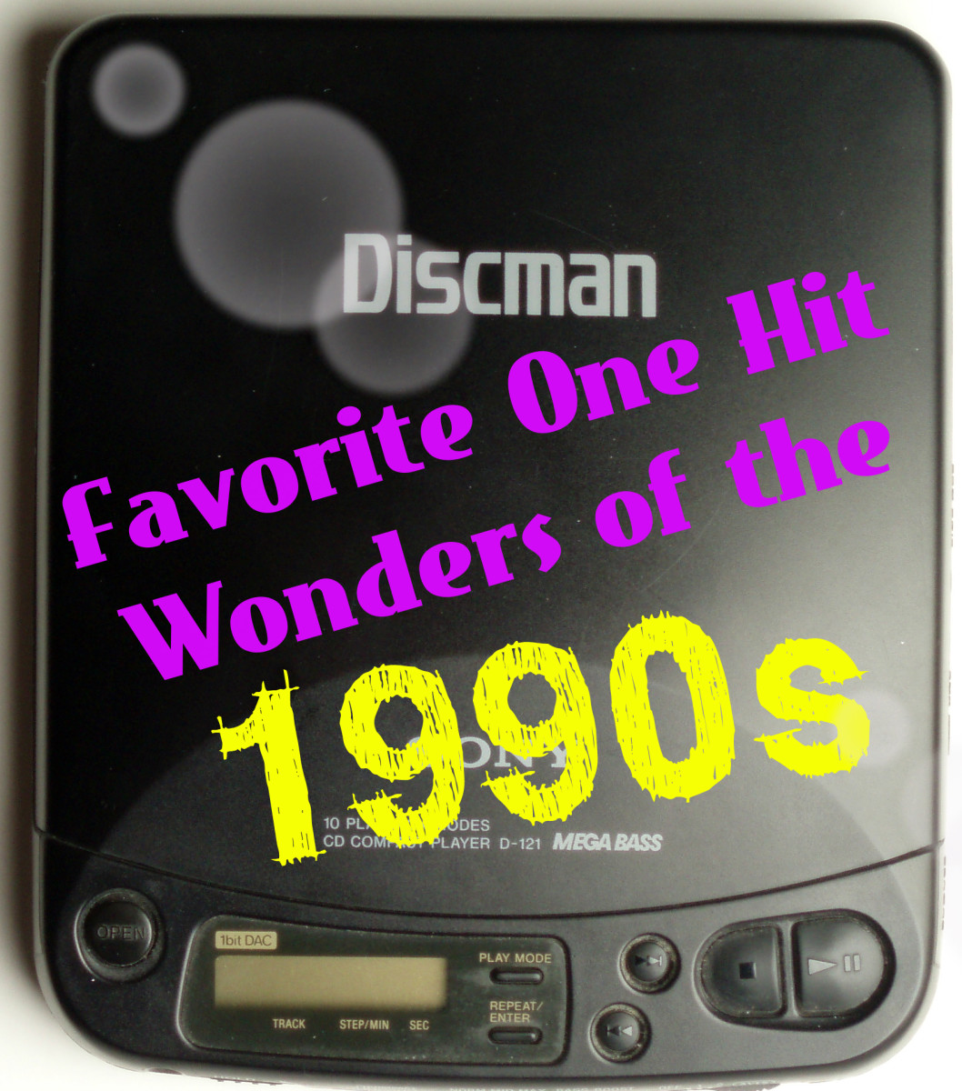 Make a 1990s nostalgia playlist featuring these favorite one-hit wonders from the era. A one-hit wonder is an artist who achieves success primarily for one song.
