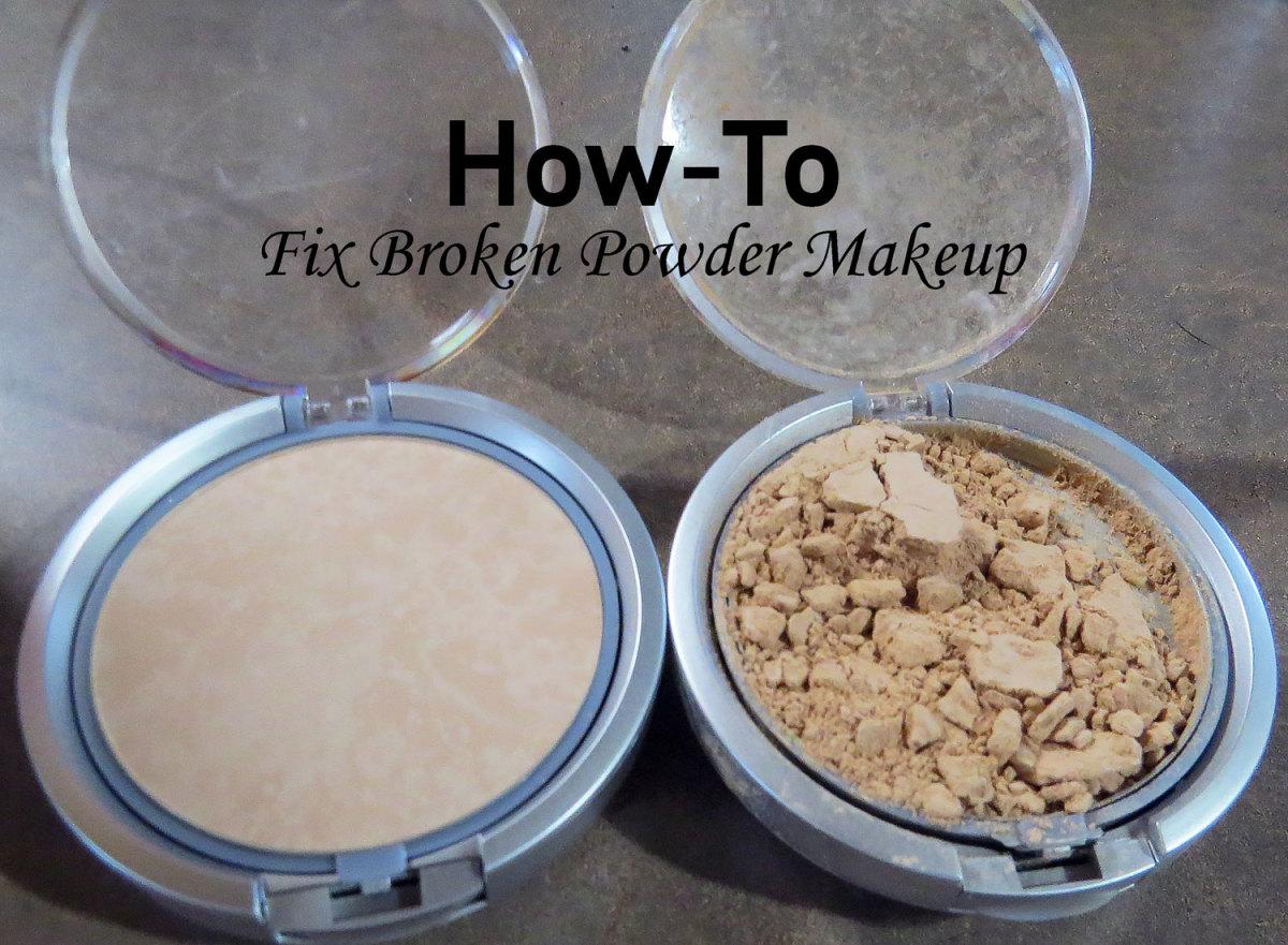 How to fix the broken powder?