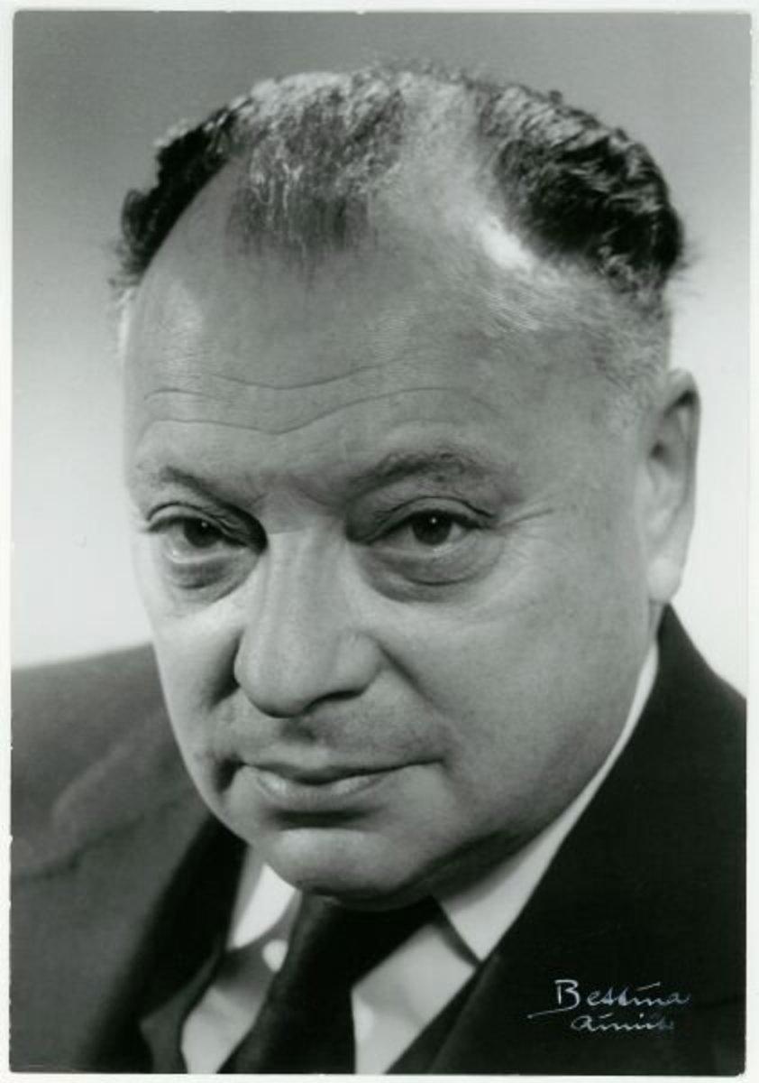 Wolfgang Pauli, the theoretical physicist behind the neutrino.