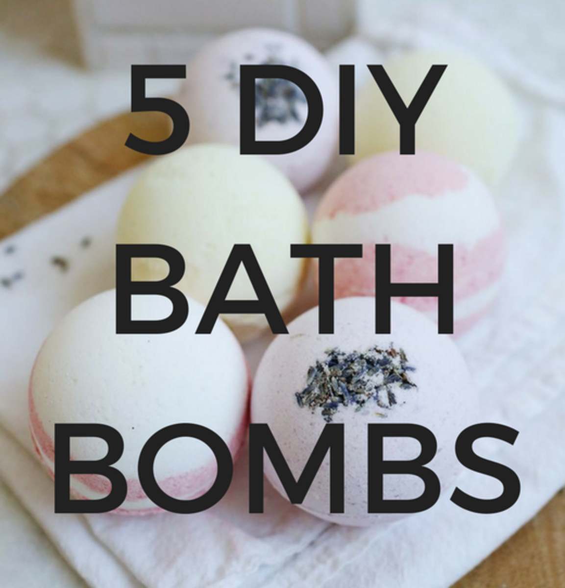 5 DIY Bath Bombs You Can Easily Make in Your Own Kitchen