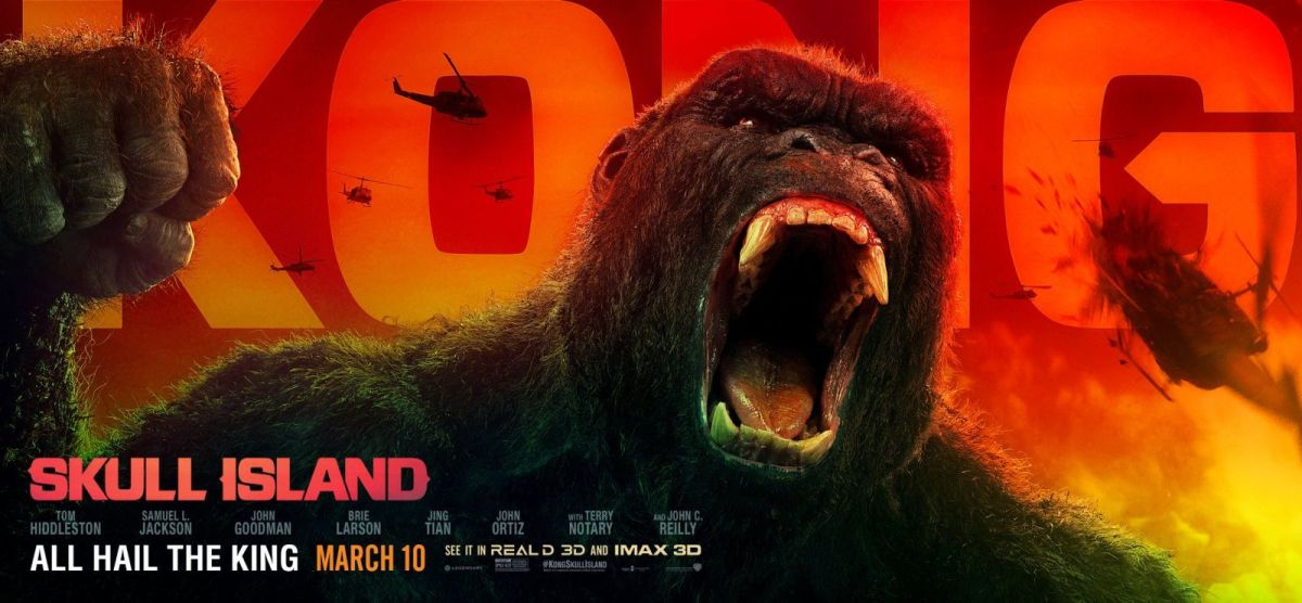 T.O.W.E.L's Movie Review - Kong: Skull Island (2017)