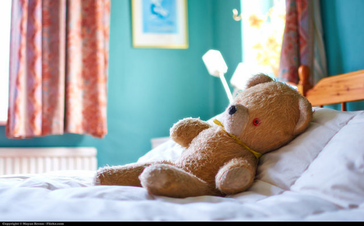 Charging a loved teddy bear is a great way for children to benefit from reiki.