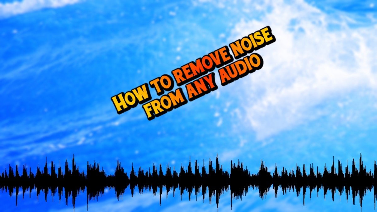 How to Remove Background Noise From Any Audio | Spinditty