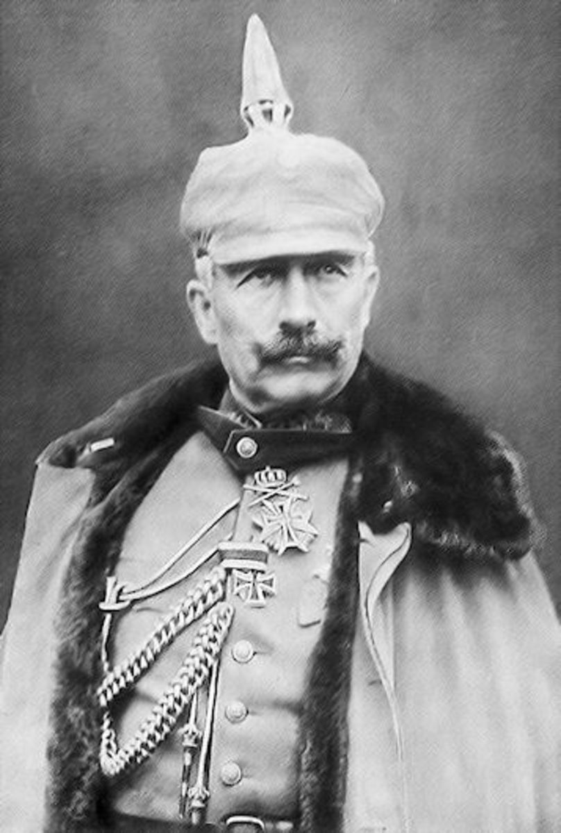 Kaiser Wilhelm II, the emperor of Germany from 1888 - 1918.