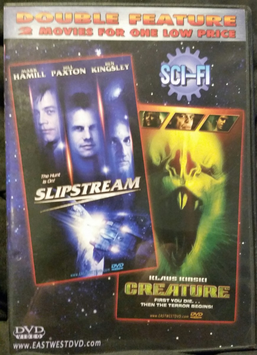 Two public domain goodies on one disc for a dollar!