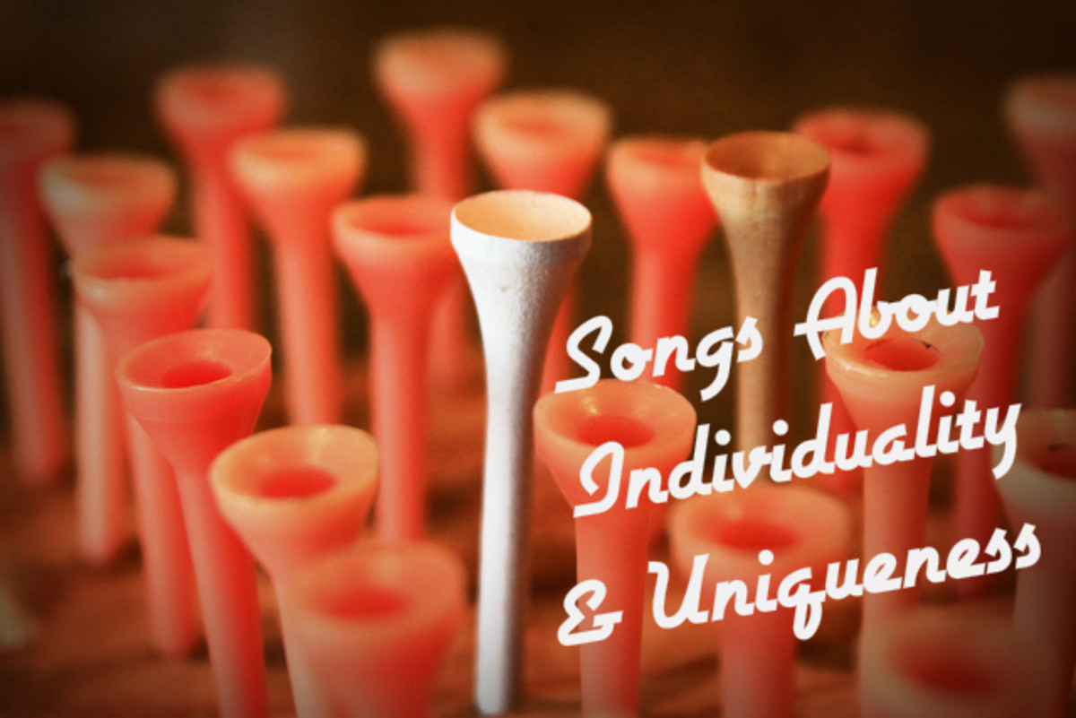 55 Songs About Individuality And Personal Uniqueness Spinditty