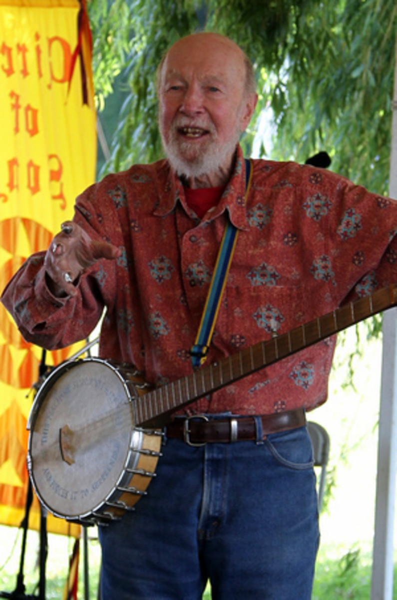 The Song Not the Singer: the Life of Pete Seeger