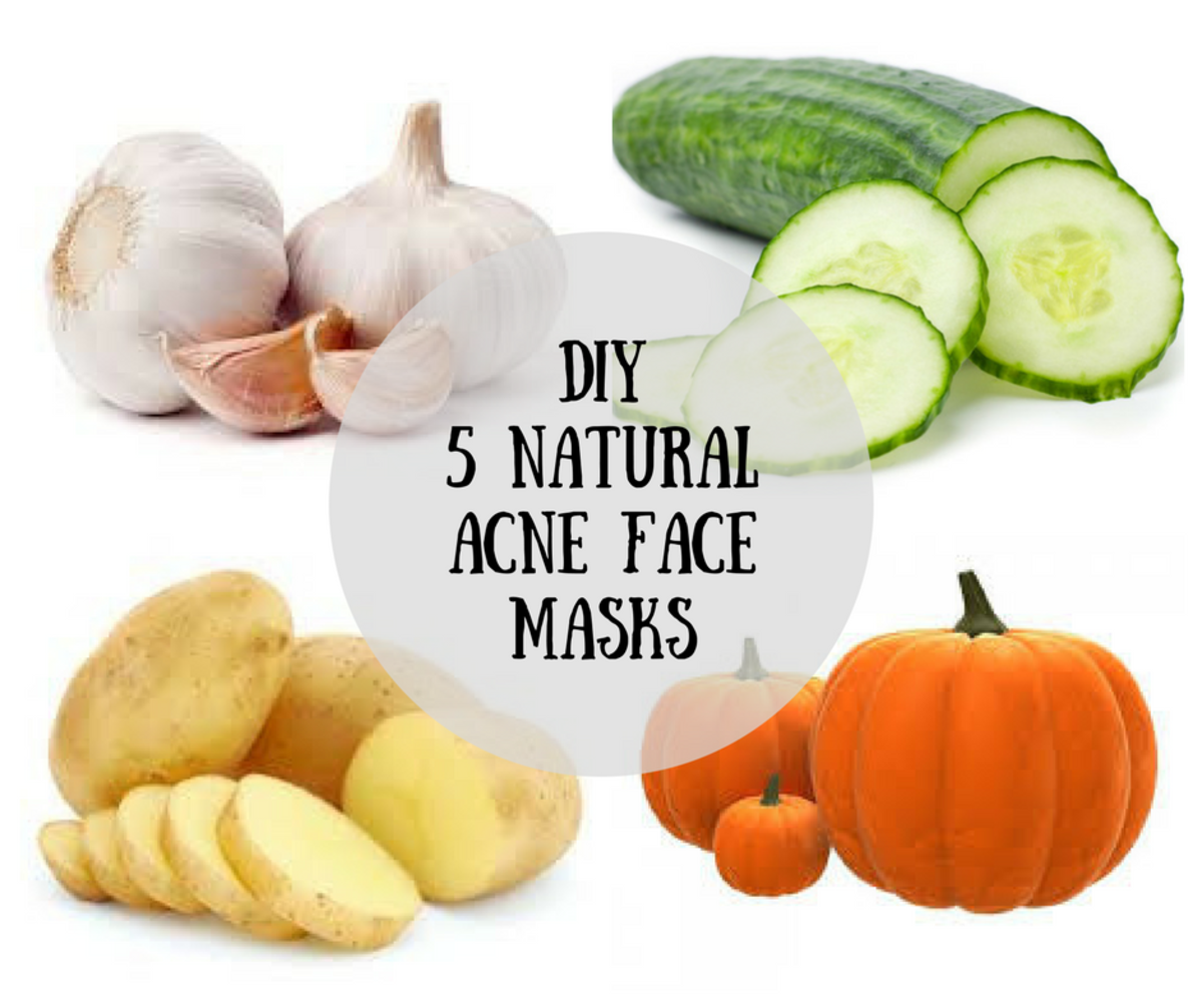 3 All Natural Diy Face Masks: DIY: 5 Natural Acne Face Mask Recipes