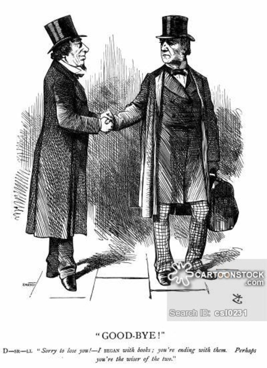 The Rivalry Between Benjamin Disraeli and William Ewart Gladstone