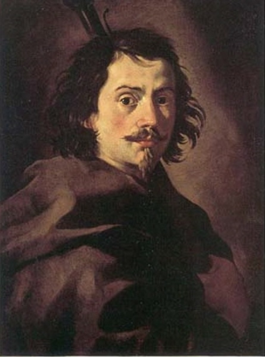 Self-portrait of Francesco Borromini