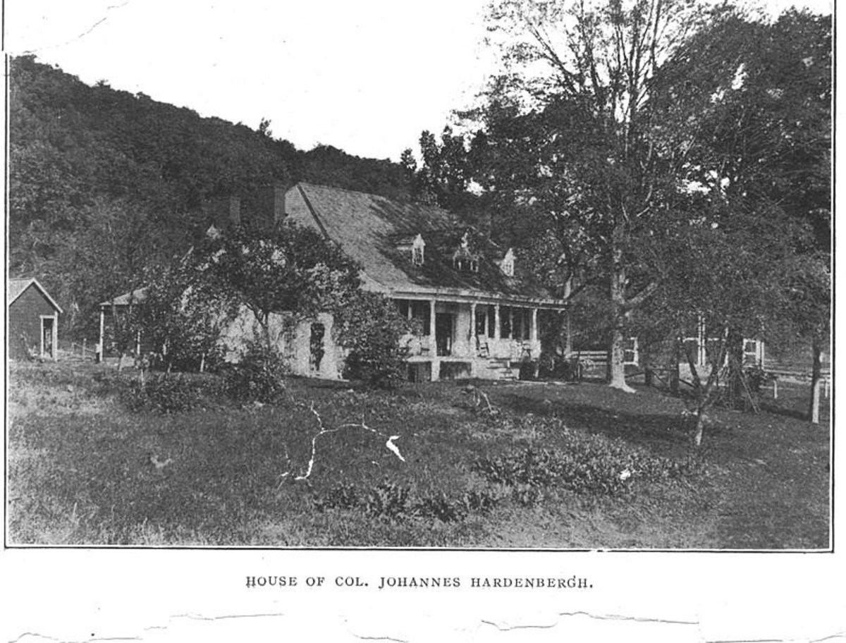 Home of Col. Johannes Hardenbergh. Slave owner of the Baumfree family.