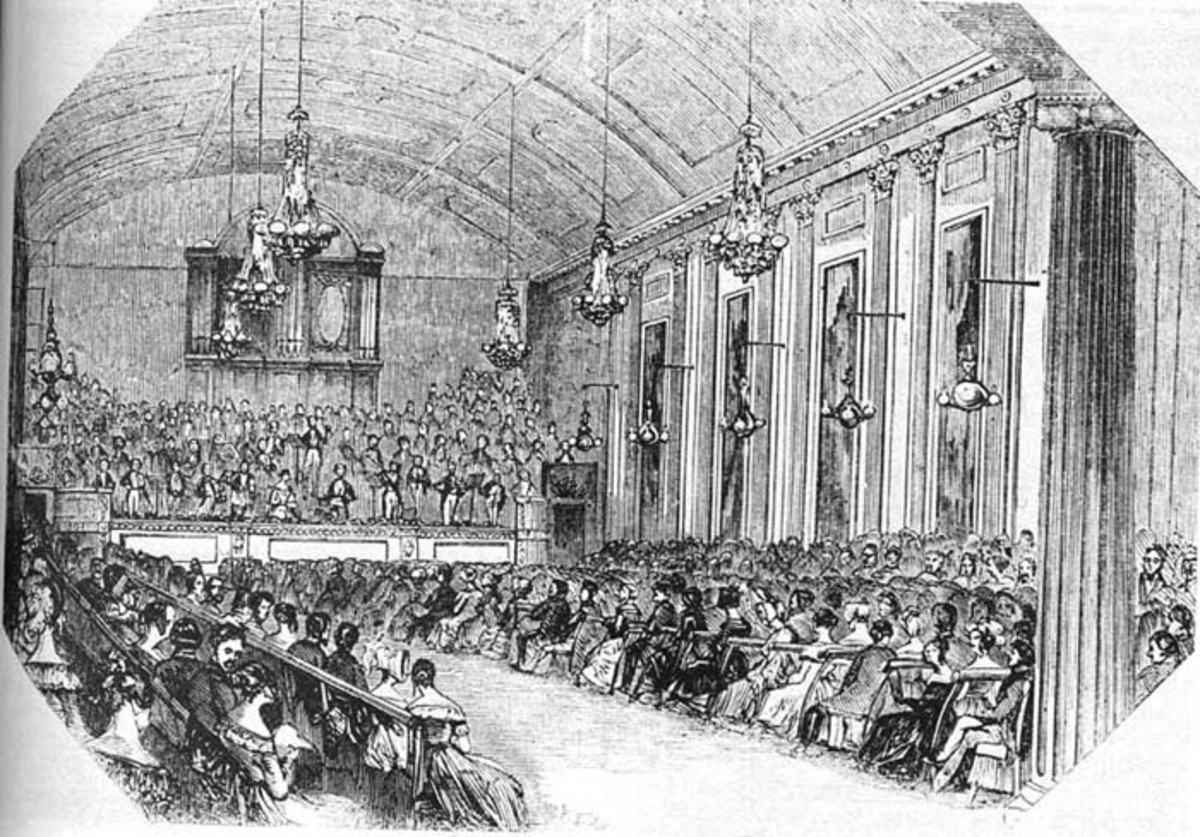 A London concert in 1843