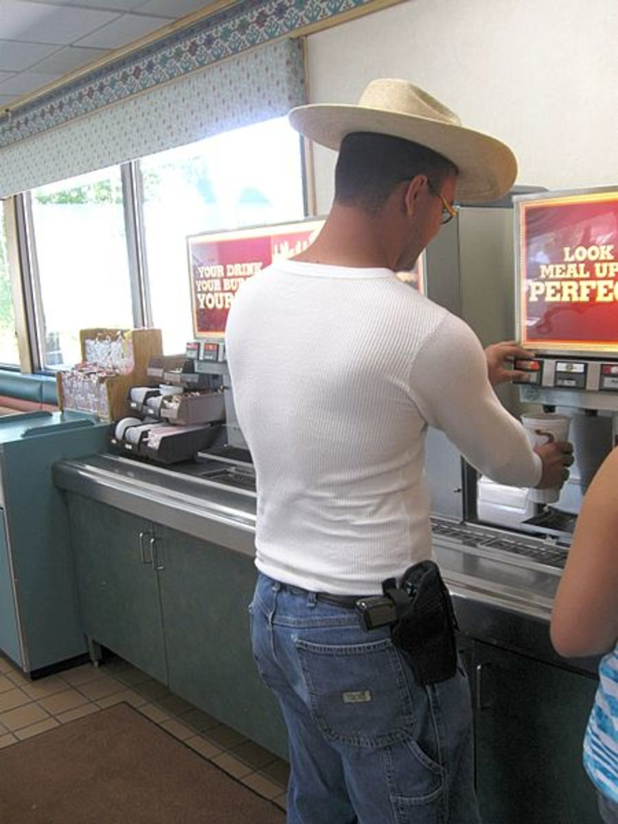 Open Carry:  Five Things You Need to Know Before You Hit the Streets