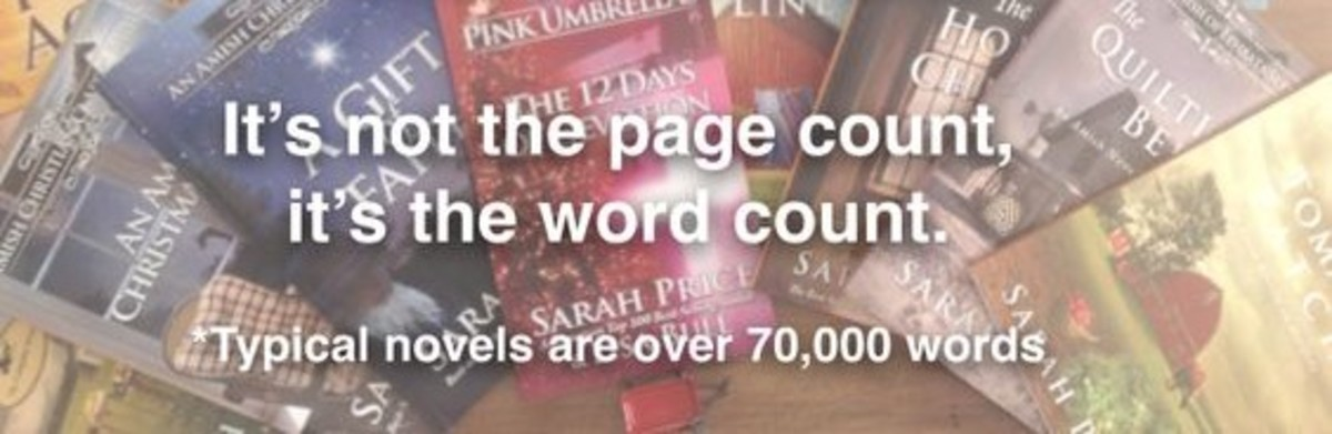 Word Counts by Fiction Genre and Type with Examples