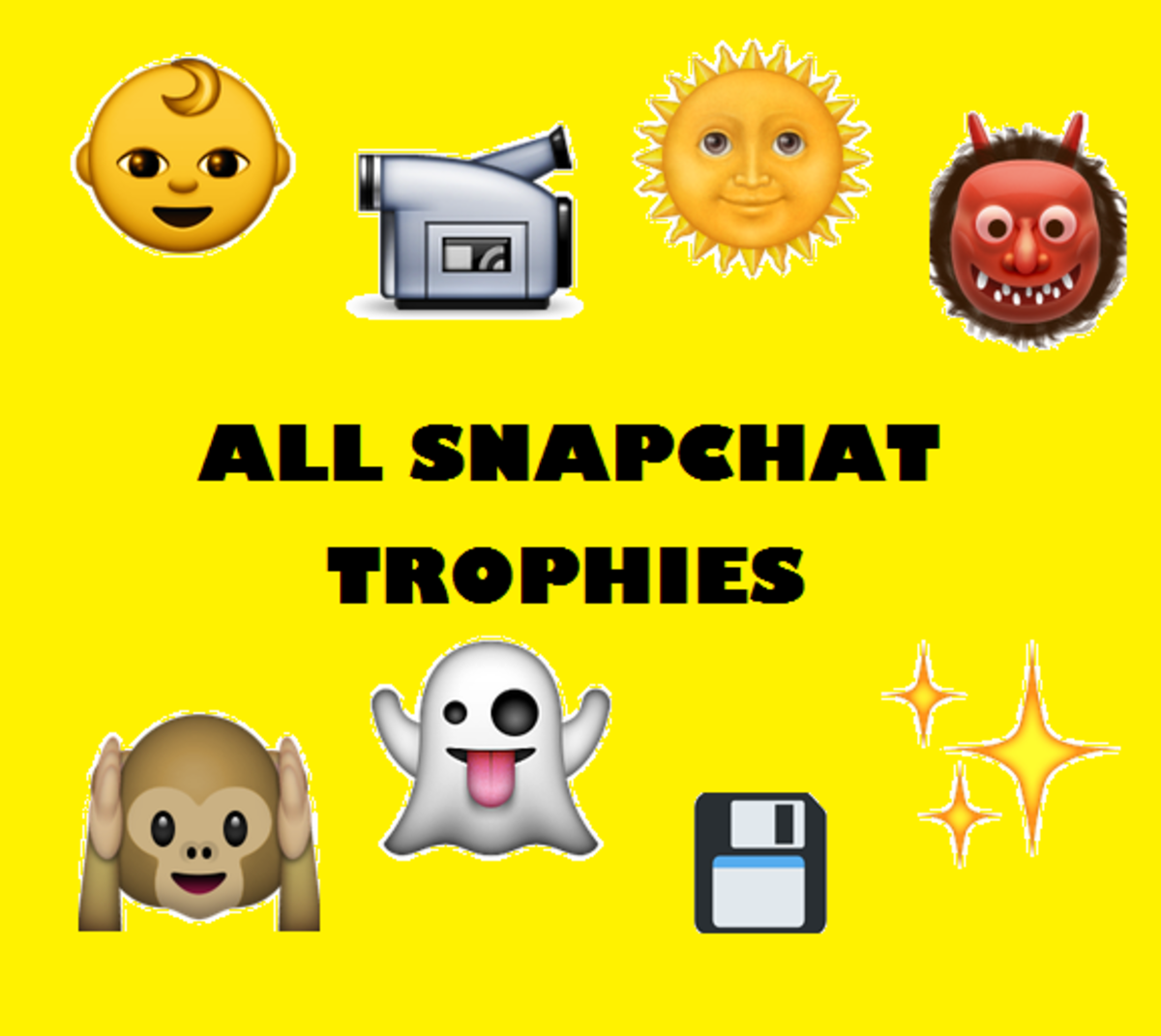 Complete List of Snapchat Trophies and Achievements