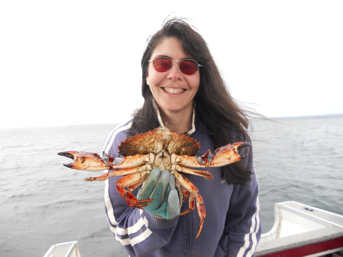 This is just a picture of me out crabbing.
