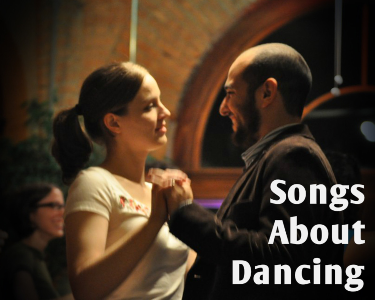 Get up and move it, move it!  Make a playlist of pop, rock, hip hop, and country songs about dancing, then get up and bust some moves.  Or grab a partner and two step.  Just have fun!