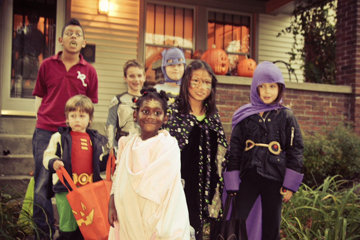 Trick-or-Treating Poem for Halloween