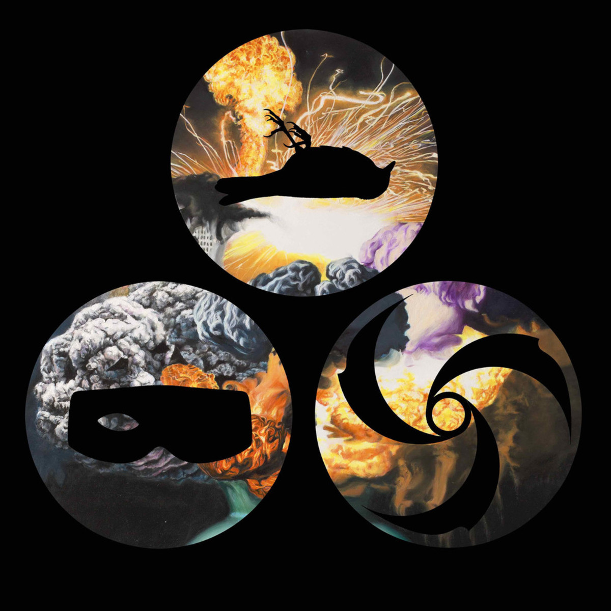 Nevermen album art, property of Ipecac Recordings.
