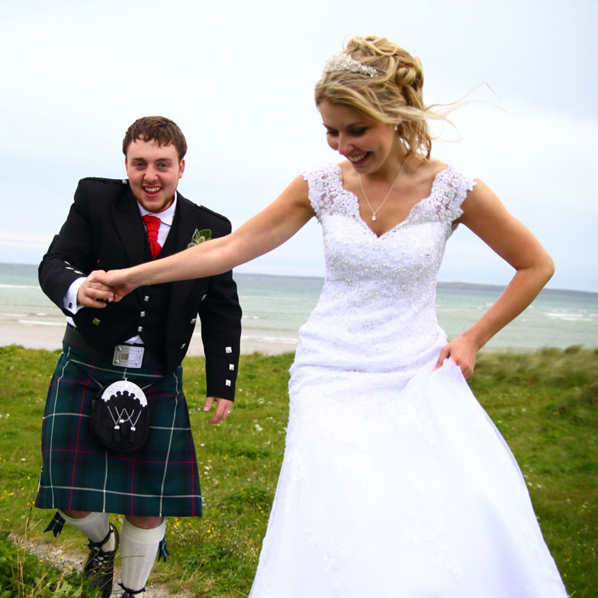Displaying non-standard/fun wedding shots will get your business noticed and remembered.