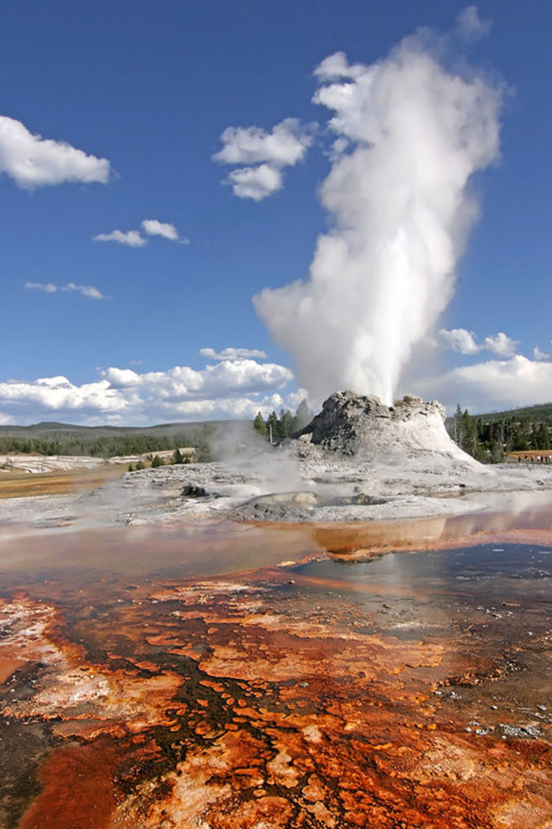 Geysers, Hot Springs and Similar Phenomena
