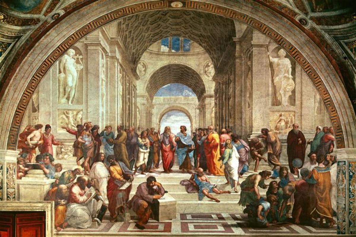 The School of Athens - Raphael (ca. 1510)