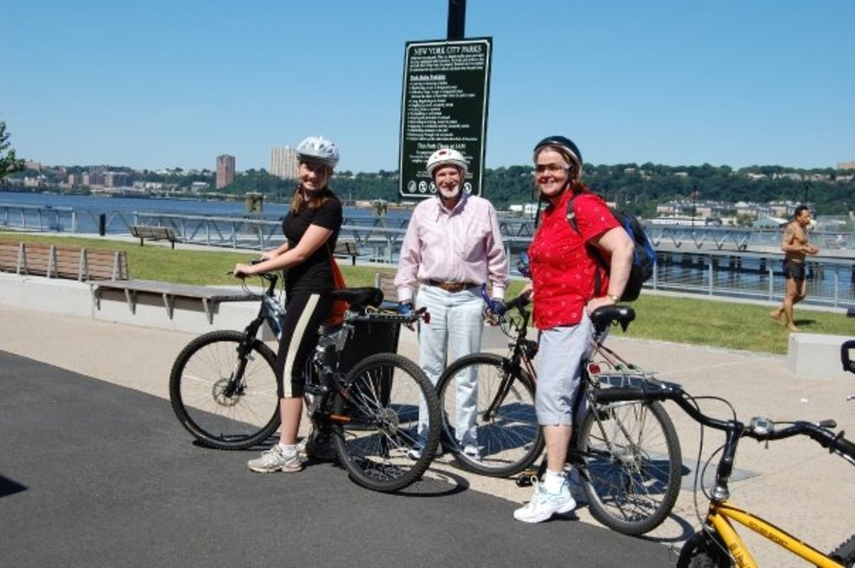 Bicycling in New York City is Fun!