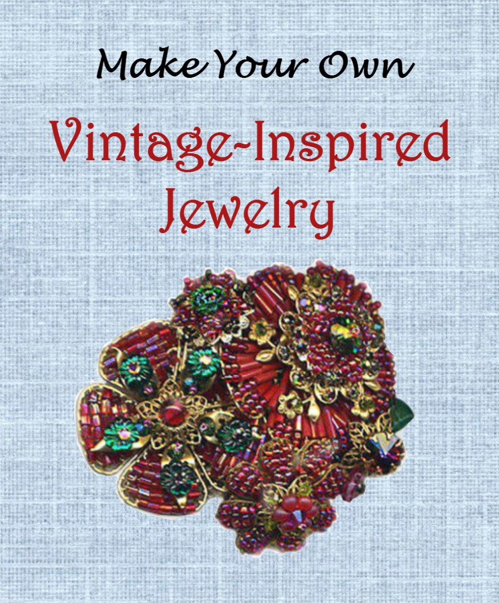 How to Make Vintage-Style Jewelry | FeltMagnet